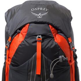Osprey Exos 48 Selkäreppu Miehet, blaze black